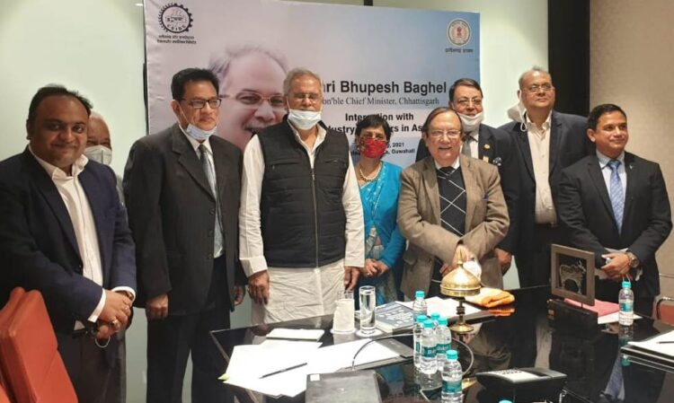 Chief Minister meets industry representatives of North East region in Guwahati